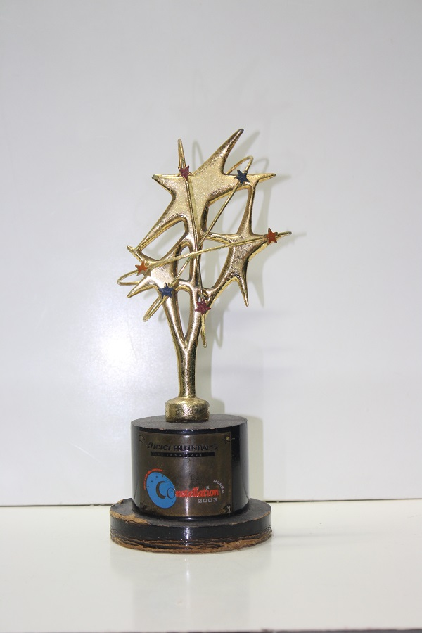 ICICI PRUDENTIAL-Achieved CONSTELLATION AWARD 2003