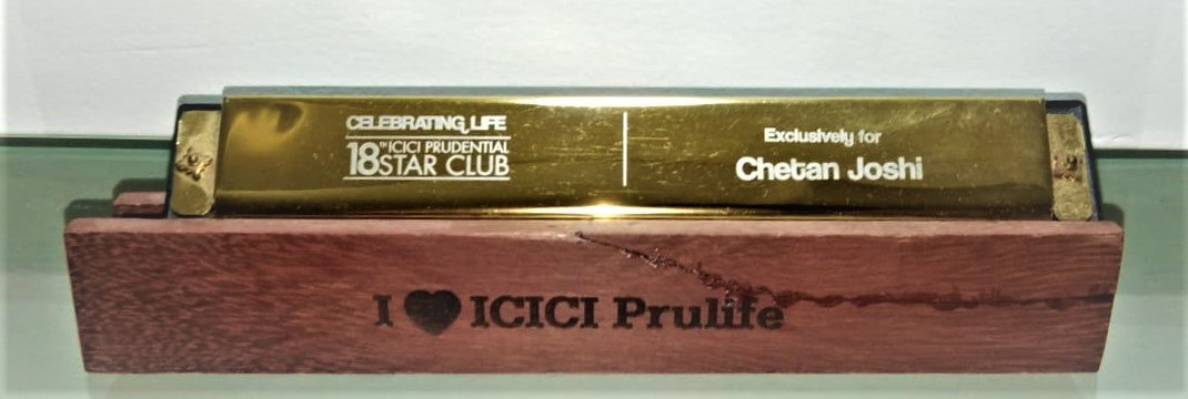 ICICI PRUDENTIAL - Qualifying for 18th STAR CLUB